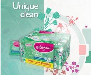 Amostra Gratis Absorvente Intimus Unique Clean free