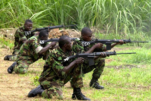 when the rebels attack mogbwemo where is beah