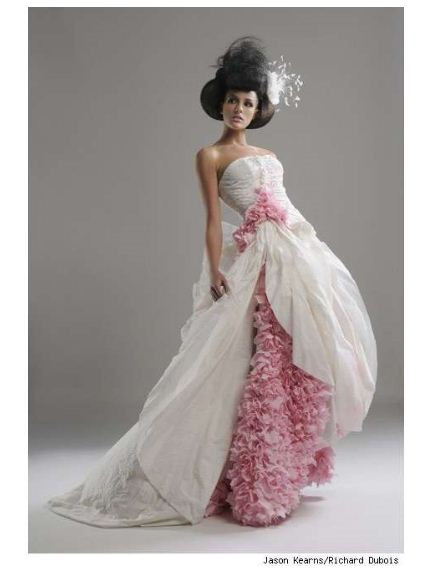 Would you wear a Wedding Dress made from toilet paper