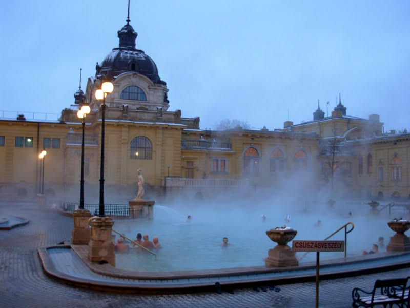 desiderata: Budapest\'s Széchenyi Baths
