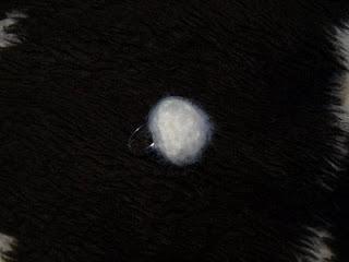 anillo crochet blanco