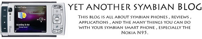 Yet Another Symbian Blog