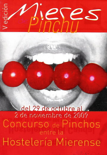 CARTEL PINCHOS MIERES