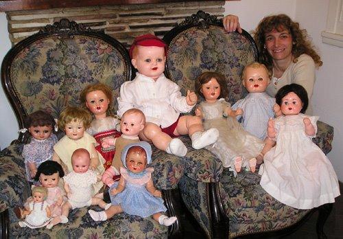 Muñecas y bebotes