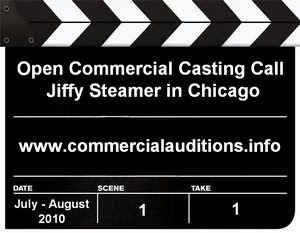 Jiffy Steamer Open Commercial Casting Call