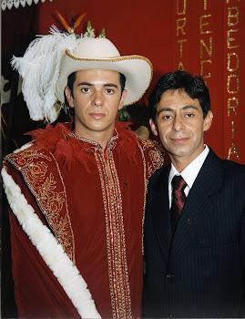 Dárcio e Fabiano Imperador e Rei da Festa do Divino da Barra da Lagoa 2005
