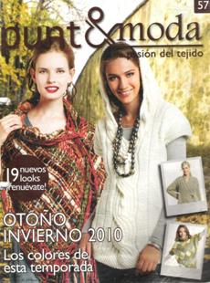 Revista Punto & Moda №57 2010