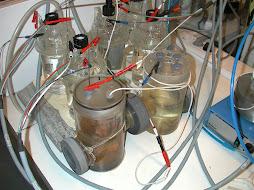 piles de laboratoire