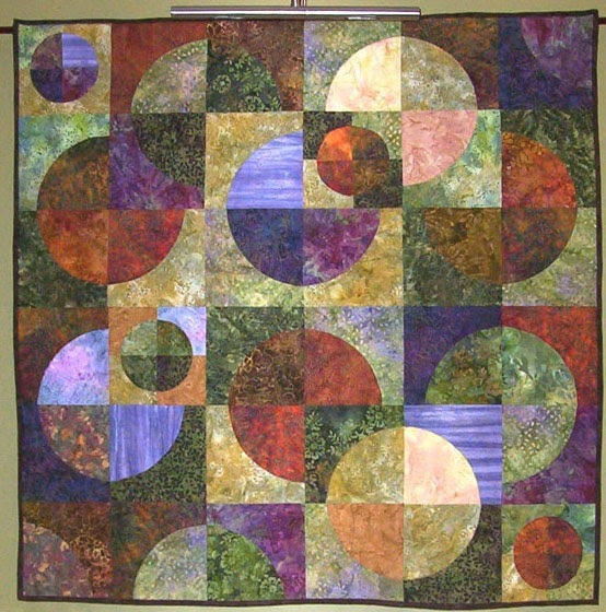 Aunt reen 39 s place contemporary quilt vs traditional quilter for Modern house quilt pattern