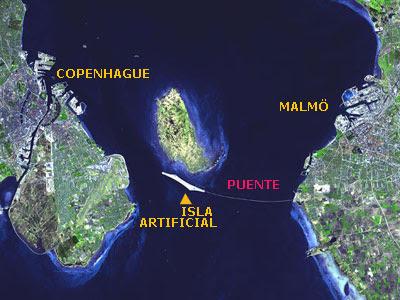 Mapa del Oresund