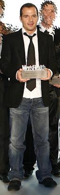 Ángel Martín en los premios