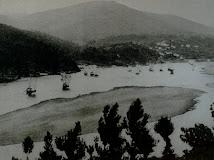 Barcos Rabelos em Rio Mau (1957)