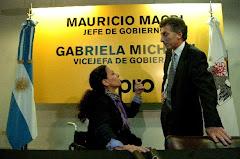 GABRIELA MICHETTI ES MACRI