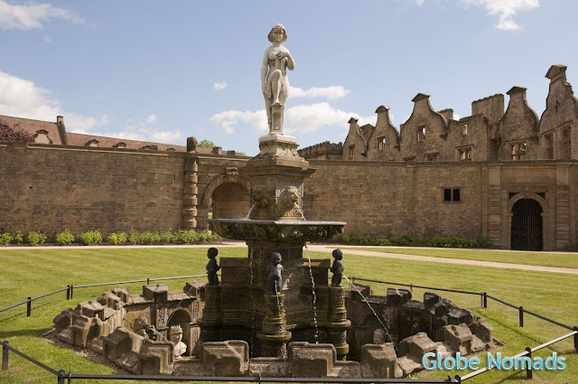 Travel, Attractions, United Kingdom, Bolsover Castle, Venus Fountain