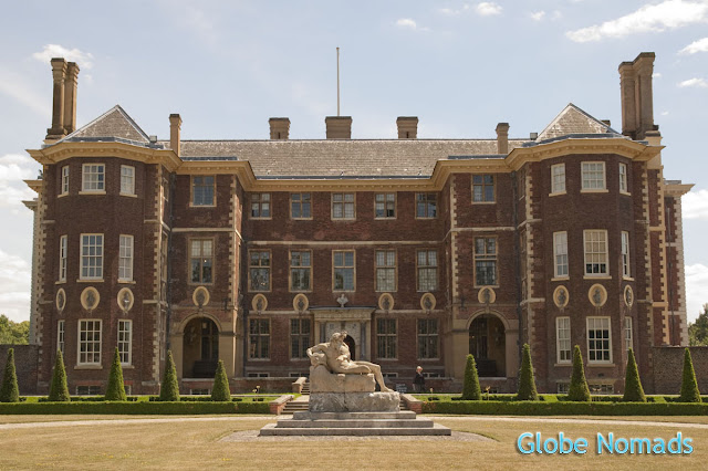 Travel, Attraction review, United Kingdom, Ham House entrance