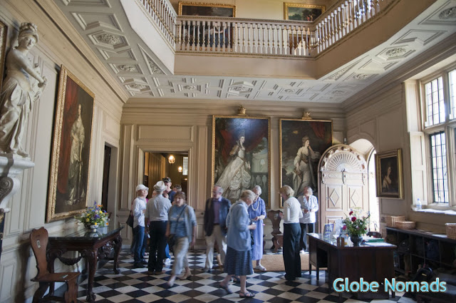 Travel, Attraction review, United Kingdom, Ham House reception hall