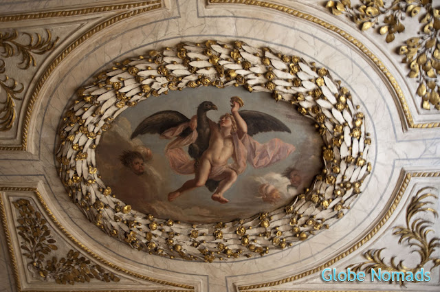 Travel, Attraction review, United Kingdom, Ham House ceiling painting