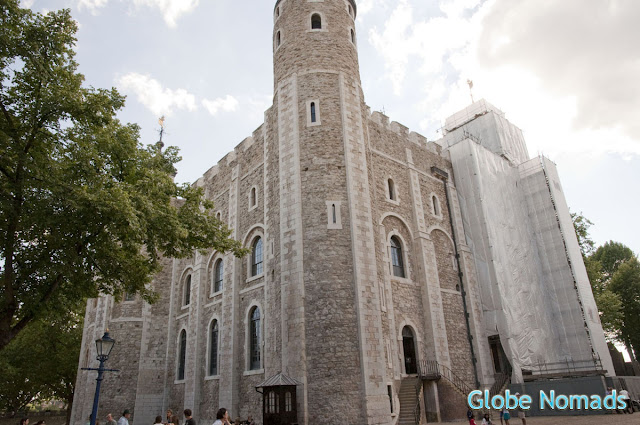 The white tower in Tower of London