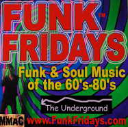don't ever miss Funky Fridays