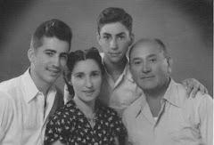 שמואל ואהובה עם הבנים