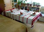 Jókat enni szépen terített asztalnál