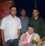 UM PRO RECORDS HONOURED DR. BHUPEN HAZARIKA ON JUNE 8, 2010