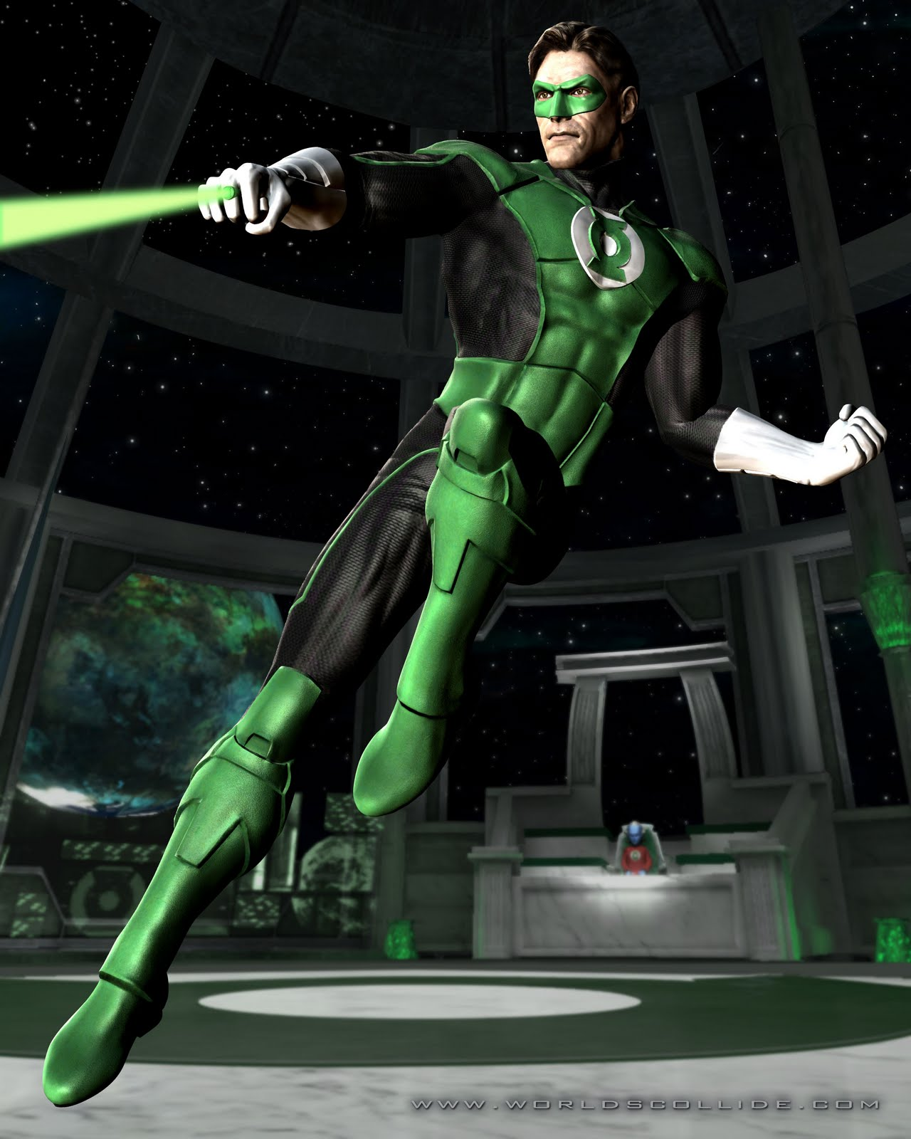 GreenLantern Render Sunday, April 4   If Nude is Good, More Nude is Better