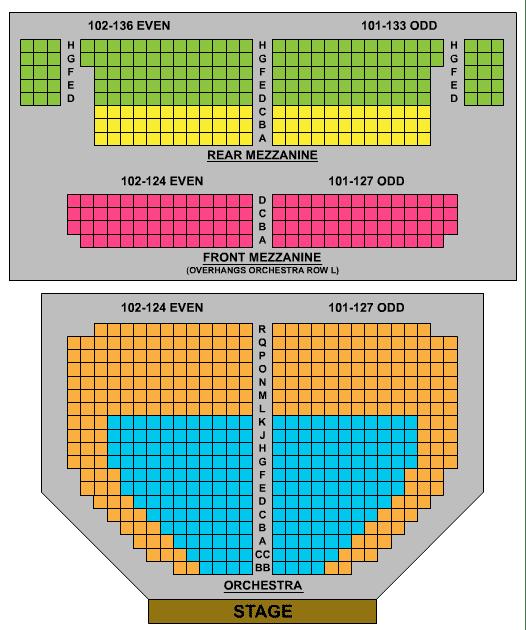 John Golden Theatre Seating Chart Check Here View John