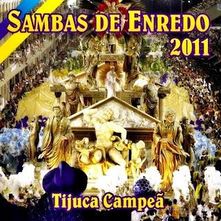CD Das Musicas do Carnaval 2011 Sambas de Enredo  Rio de Janeiro  | músicas
