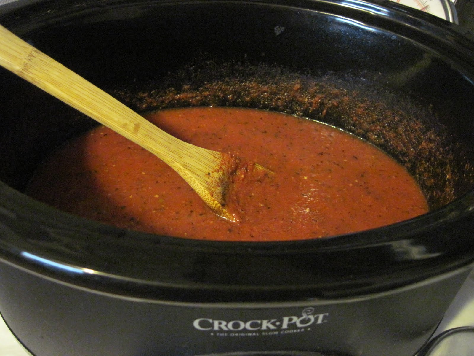 aubrey 39 s recipes crock pot pizza sauce. Black Bedroom Furniture Sets. Home Design Ideas