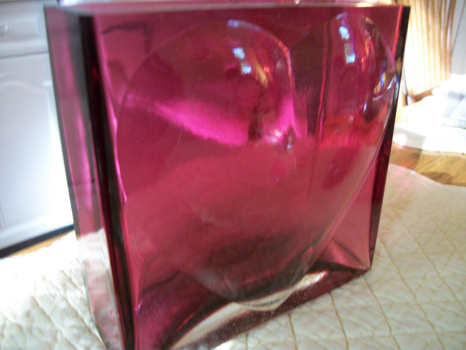 how to tell if it is real cranberry glass