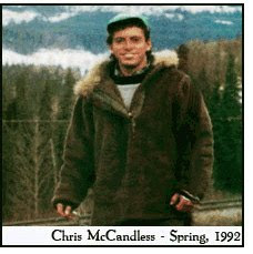 christopher mccandless characteristics But this family history features a startling amount of toxic behavior,  chris and  carine mccandless outside their annandale, virginia, home.