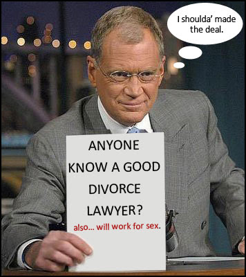 David Letterman may have a sex tape!