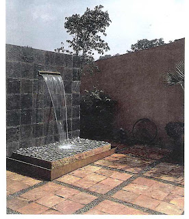 Fuentes modernas cascada - Fuentes de pared modernas ...