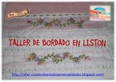 Taller de Bordado de Liston