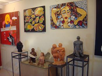 Exposição em Buzios Julho de 2010 no anexo da Galeria Flory Menezes
