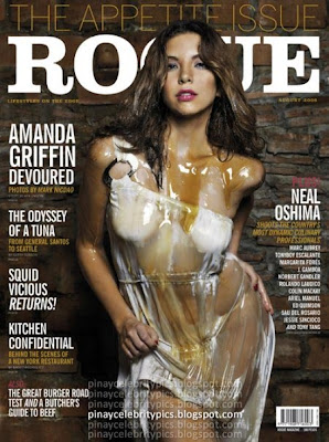 Amanda Griffin is Rogue Magazine Cover Girl for  August 2008