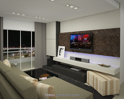 Home Theater on Tiago Crisostomo   Design  Home Theater