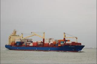 Ons Containerschip, de MV Cap Blanche