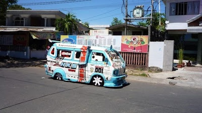 Vans in Indonesia