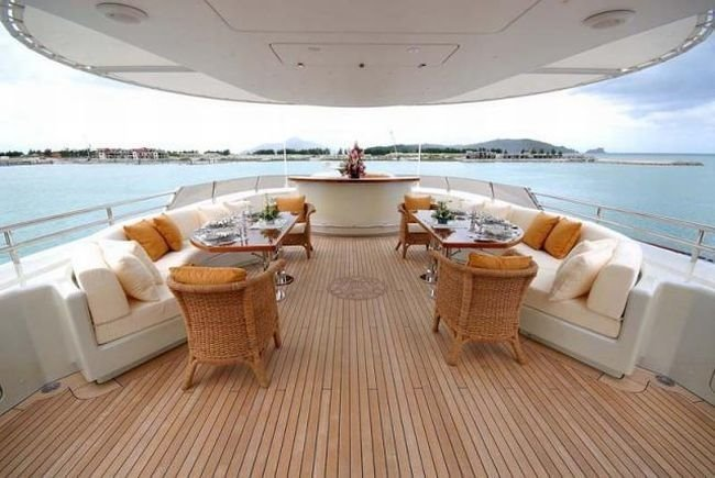 Who Don't want a Luxury yacht?
