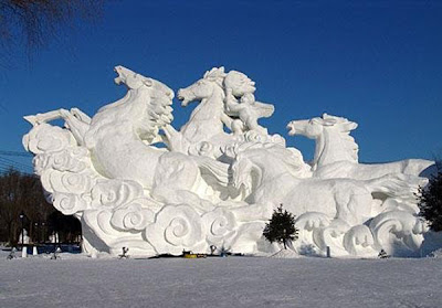 Incredible Creations in Snow