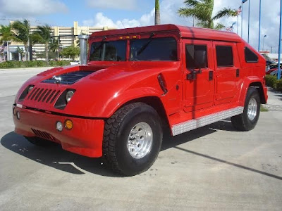 Hummer tuning - Spoiled!