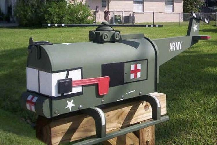 Caixas de correio engraçadas
