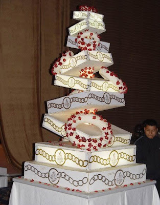 Extraordinary Wedding Cake