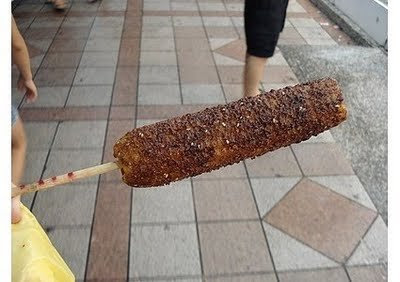 food on stick