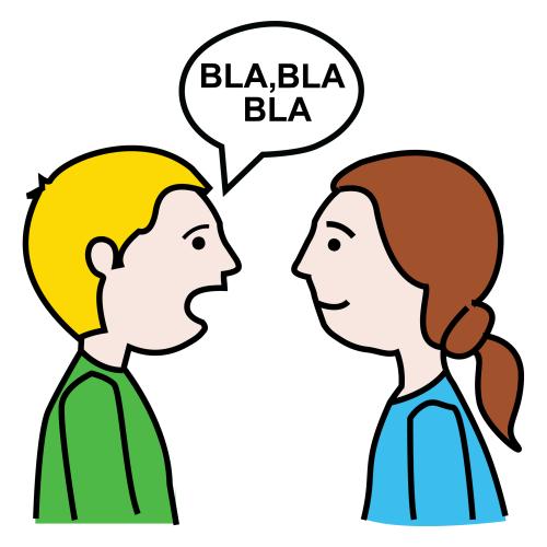 Imagenes de personas dialogando para colorear - Imagui