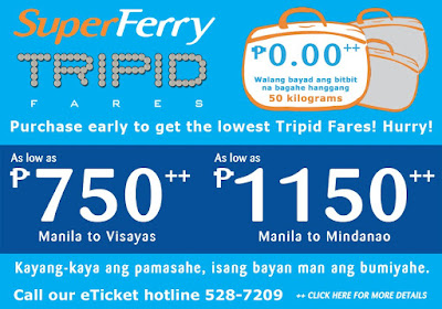 Superferry Promo - 2go Promo: August 2009