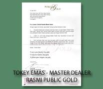 KAMI MASTER DEALER RASMI PUBLIC GOLD