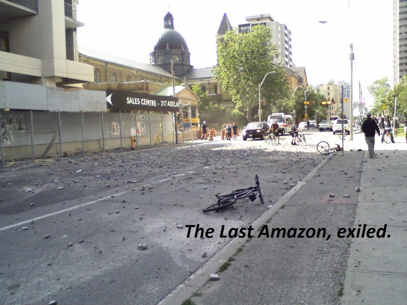 The Last Amazon, Exiled